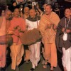 Chanting Hare Krishna in Amsterdam
