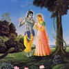 The Meeting of Radha and Krsna