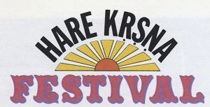 Hare Krishna Festival Logo