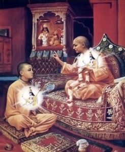 The Spirtual  Master Instructs the Disciple