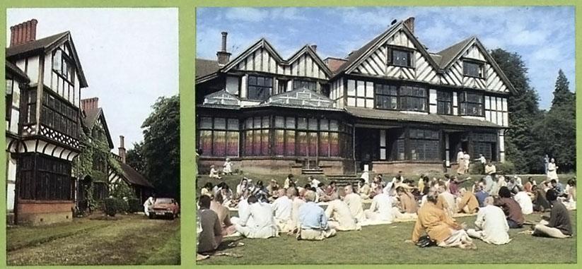 Bhaktivedanta Manor, Lechmore Heath, Watford, England, 1973.