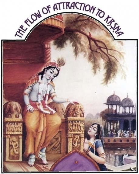 The Flow of Attraction to Krishna