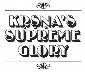 Krishna's Supreme Glory