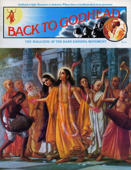 Back to Godhead - Volume 01, Number 63 - 1974