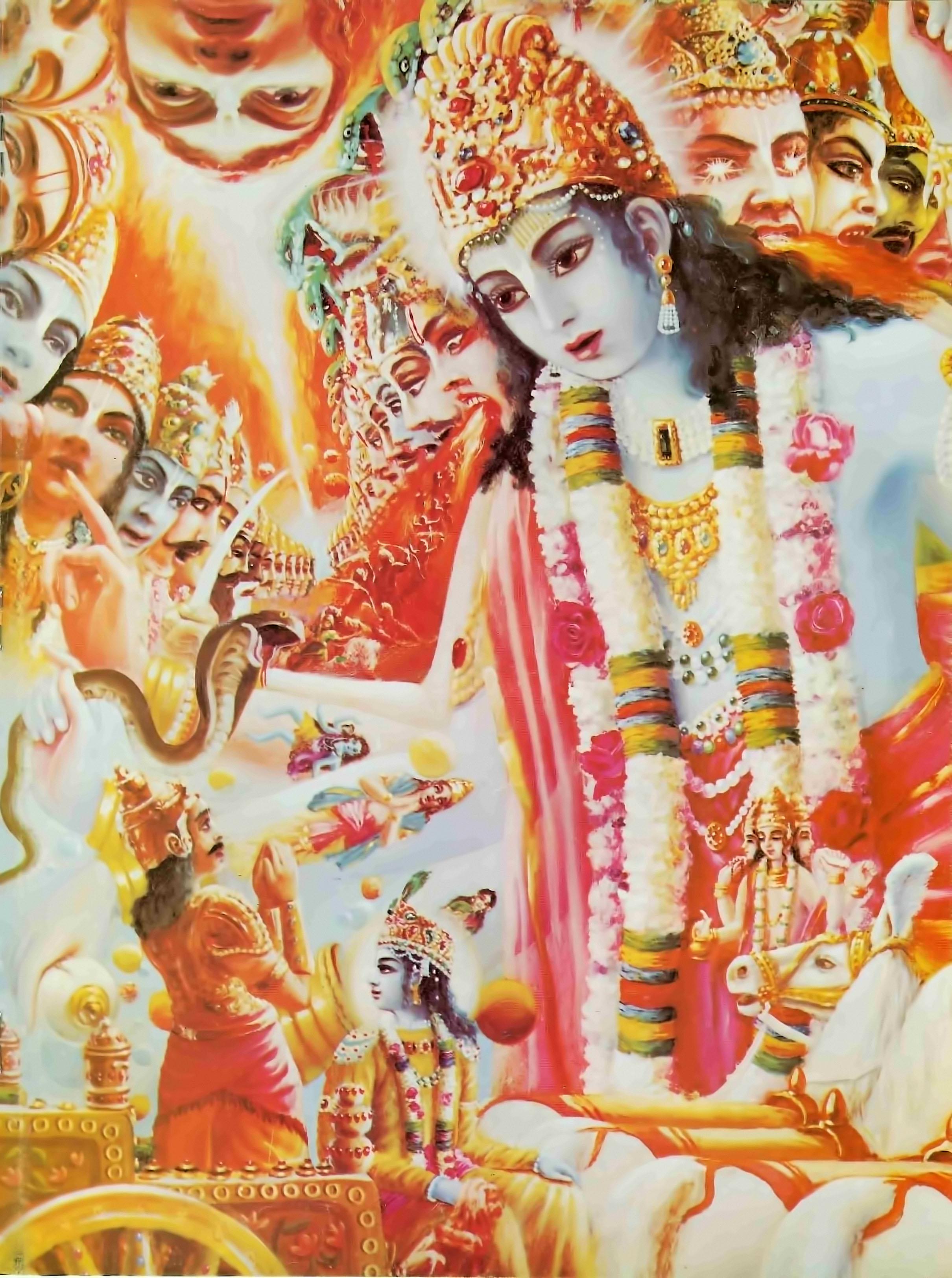 Krishna's Universal Form | Back to Godhead