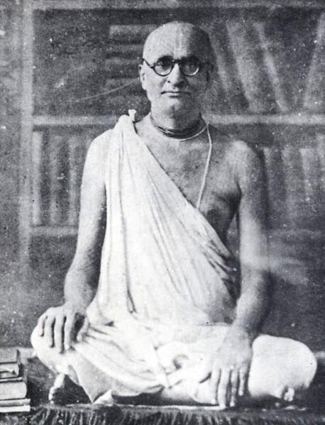 Srila Bhaktisiddhanta Sarasvati Gosvami Maharaja, the spiritual master of His Divine Grace A. C. Bhaktivedanta Swami Prabhupada and the foremost scholar and devotee in the recent age.