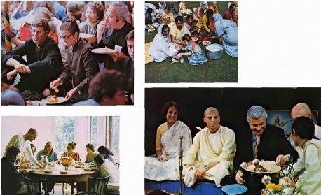 ISKCON Prasadam Distribution 1974.