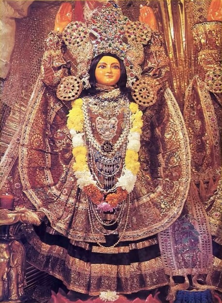 Deity of Lord Nityananda. 1975.