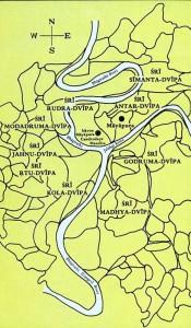 Mayapur Map