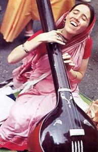 Sankirtana -- ISKCON Devotees Chant Hare Krishna in New York City