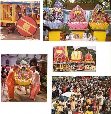 Ratha Yatra Festival Photos 1975.
