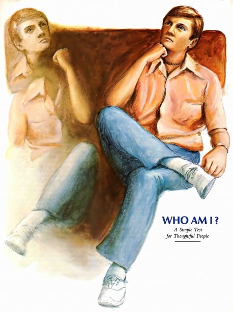 Who Am I? A simple test for thoughtful people.