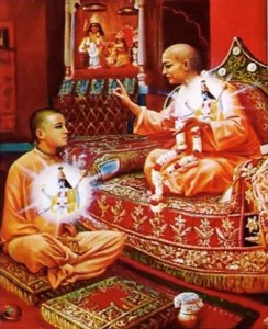 Bhagavad-gita explains that the spiritual master can impart knowledge because h e has seen the truth.