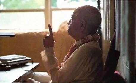 Srila Prabhupada explain the law of karma. 1975.