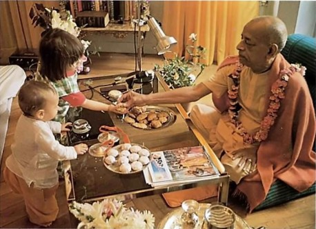 ISKCON Gurukul: Everything should be done on the basis of love. 1975. Dallas, Texas.