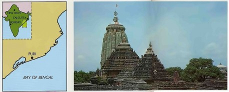 Puri, City of Jagannatha, Lord of the Universe