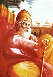 King Dhrtarasta of the Bhagavad Gita