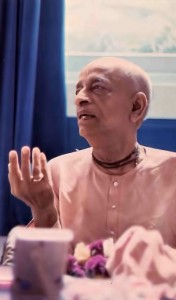 "Srila Prabhupada: ""Human life is meant for understanding God and loving Him."" 1976."