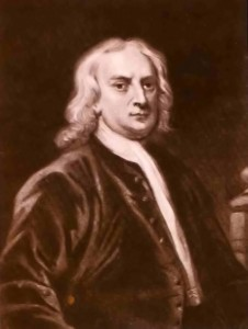 "Isaac Newton: ""Who made the real universe?"""