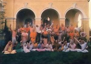 Melboune Hare Krishna Temple and devotees 1976.
