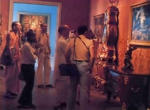 ISKCON Artists study the works of the great masters at the Getty Museum. 1977.