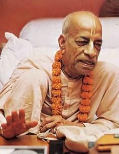 Srila Prabhupada preacing in Self-Realization 1977.
