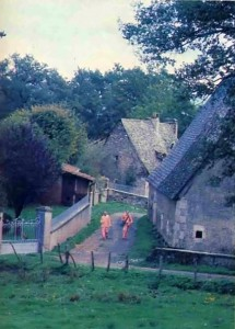 "In places like Firminy, we may walk for half an hour between houses. Still, ""Utility is the principle"": these people want to hear about Krishna. - 1977 France"