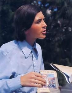 Madhava dasa ISKCON Book Distributor with wig 1977
