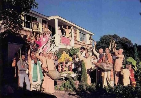 ISKCON Laguna Beach Hare Krishna Temple - 1977