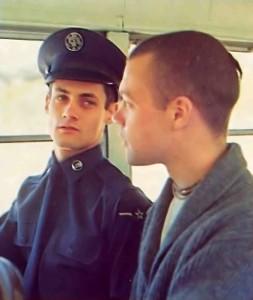 At Christmas Mandalesvara dasa and an airman talk of peace