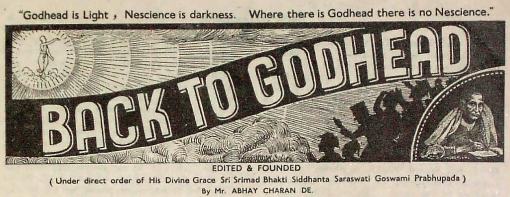Back to Godhead - Volume 01, Number 0104 - 1944
