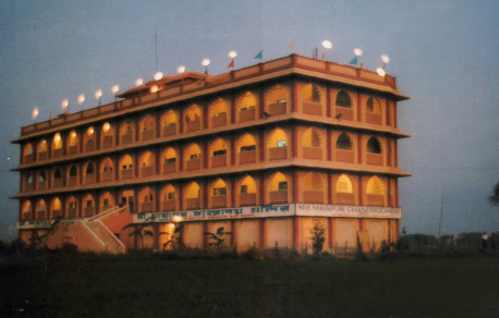 The first step in Srila Prabhupada's master plan was to construct a four-story guesthouse. Of course, for a handful of devotees ninety miles from Calcutta, constructing a four-story building in the middle of the rice fields of West Bengal was a difficult task.