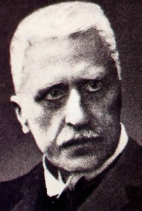 Theologian Rudolf Otto (1869-1937). author of The Idea of the Holy.