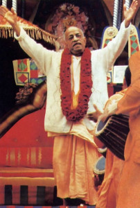 Chanting the Hare Krsna mantra, Srila Prabhupada began waves of transcendental sound that have spread around the world.
