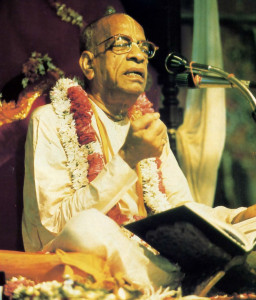 Dharma as devotional service to the Supreme Lord. Sriia Prabhupada dedicated himself to teaching bhakti-yoga, pure devotional service, as the highest expression of dharma for all living beings.