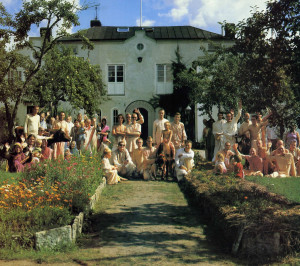 "The New Radhakunda community serves as a successful example for Sweden's troubled communes. ""Our advantage is our heritage,"" explains Vegavan. ""Following thousands of years of precedent, we simply put Krsna in the center and serve Him under the guidance of a bona fide guru a nd the scriptures."""