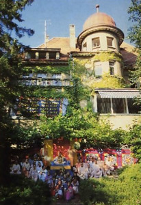 The Krsna Society's new headquarters in Zurich.