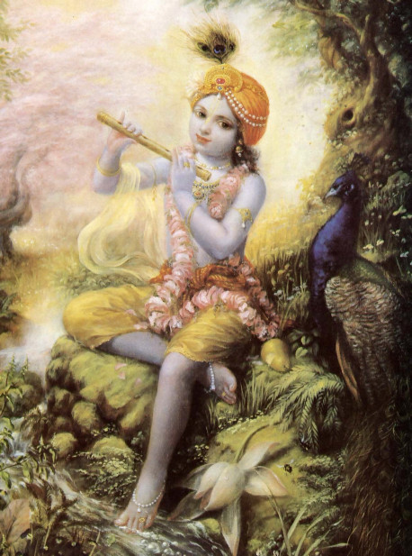 Not an impersonal force or void, the Absolute Truth is a person: Krsna the Supreme Personality of God head. Those who worship Him wit h faith and love return to His supreme planet and enjoy an eternal life of bliss a d knowledge.