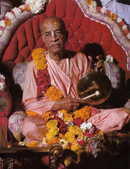 His Divine Grace A.C. Bhaktivedanta Swami Prabhupada Founder-Acarya of the International Society for Krishna Consciousness
