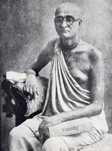 Srila Prabhupada's spiritual master, His Divine Grace Bhaktisiddhanta Sarasvati Thakura..