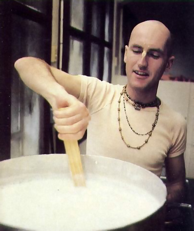 simply stirring up a pot of sweetened milk