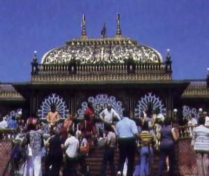 Festivities at Srila Prabhupada's Palace of Gold.