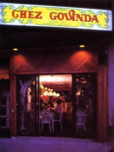 A warm glow of bonhomie radiates from the entrance to Chez Govinda, the vegetarian restaurant run by devotees in Montreal. And not only arc there fine cooking and natural ingredients, but  everything is offered to Krsna - which makes eating at Chez Govinda a spiritual experience.