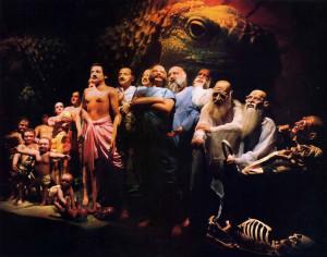The final diorama
