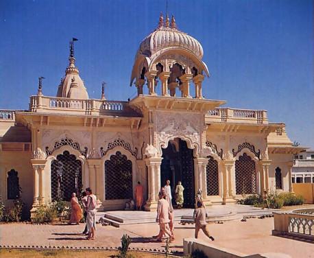 Krishna Balaram Temple Vrindavan India