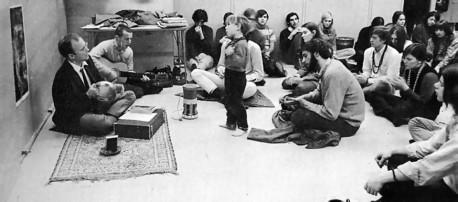 Rupanuga Das teaching Bhakti Yoga, University of Buffalo.