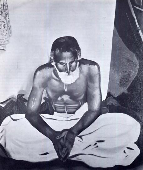 SRILA GOUR KISORE DAS BABAJI MAHARAJ  THE SPIRITUAL MASTER OF SRILA BHAKTISIDDHANTA SARASWATI GOSWAMI AND INTIMATE STUDENT OF SRILA THAKUR BHAKTIVINODE