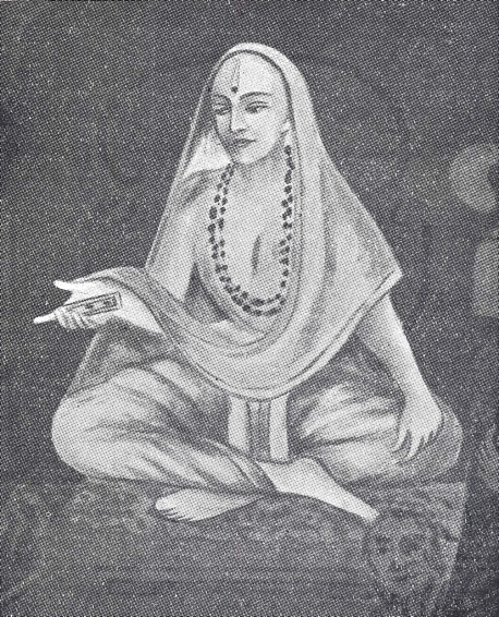 """Srila Vyasatirtha appeared in the Fifteenth Century in India. His place in the disciplic succession of Krsna consciousness is as flowers: He was the guru of Laksmipati, who was the guru of Madhavendra Puri, who was the guru of Isvara Puri, who was the guru of Lord Caitanya Mahaprabhu, who distributed love of Krsna to all peoples everywhere through the process of chanting the holy name, Hare Krsna. Vyasatirtha was a great writer, the author of many books, and has been called """"the best of the knowers of the perpose of the Vedic scriptures."""""""