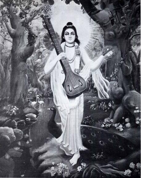 NARADA MUNI, SPIRITUAL MASTER OF KRSNA-DVAIPAYANA VYASA, AND THE UNIVERSAL DELIVERER OF THE HARE KRSNA MAHA-MANTRA
