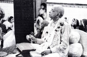 """Lord Caitanya said, 'It is your duty to go preach'"""
